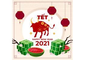 2021新颖牛年创意海报