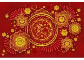 中国新年剪纸素材