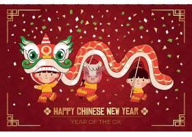 舞狮风多彩的中国新年2021年