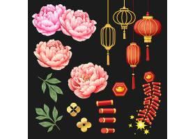 中国新年元素集合