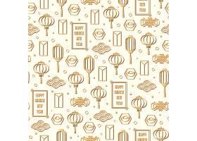 金色中国元素集合