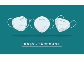 不同视角下KN95面罩的平面设计_115215640101