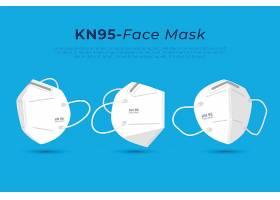 不同视角的平面型KN95面膜_115991200101