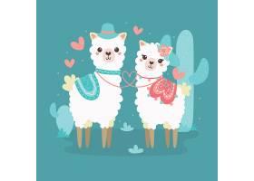 可爱的情人节动物情侣_117954420102