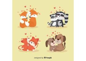 情人节动物情侣系列_363351901