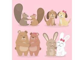 可爱的情人节动物情侣_63194710102