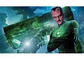 电影,绿色的,灯笼,Sinestro,壁纸,(2)