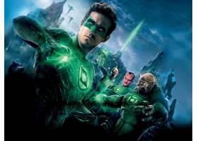 电影,绿色的,灯笼,千瓦格,Sinestro,赖安,雷诺兹,托马尔-雷,壁纸,