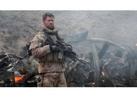 电影,12,强烈的,克莉丝,Hemsworth,船长,逃学,纳尔逊,壁纸,(1)