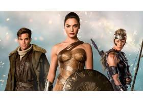 电影,奇迹,妇女,女孩,Gadot,黛安娜,关于,Themyscira,克莉丝,渴望