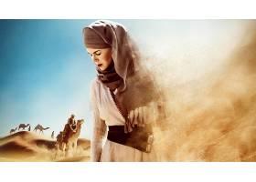 电影,女王,关于,沙漠,尼科尔,基德曼,壁纸,