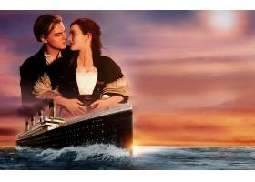 电影,泰坦尼克号,凯特,Winslet,莱昂纳多,迪卡普里奥,壁纸,(3)