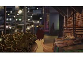 电影,男孩,和,野兽,贝克莫诺,不,Ko,街道,东京,夜晚,壁纸,