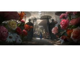 电影,爱丽丝,在,仙境,(2010年),爱丽丝,花园,幻想,爱丽丝,在,仙境