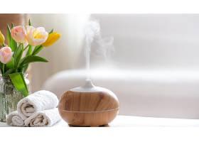 水疗组合物带有现代身体护理产品的油扩散_1010741501