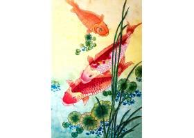 日本绘画日本自然传统季节_120590701