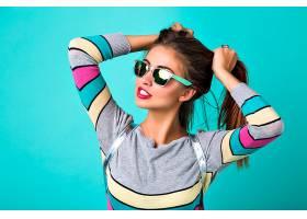时尚生活方式写真快乐有趣的女人性感丰_1006831101