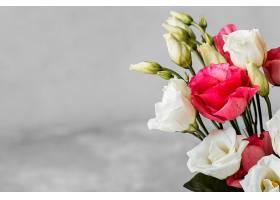 一束玫瑰花特写带文案空间_1206770701