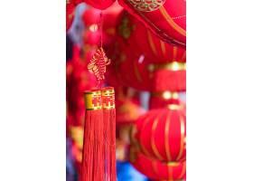 中国大红灯笼的细节_117521601