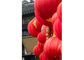 中国大红灯笼的细节_119372301