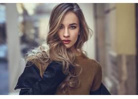 毛衣成人漂亮的现代女人_106966901