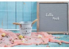 花团锦簇的快乐三月海报_1237424701