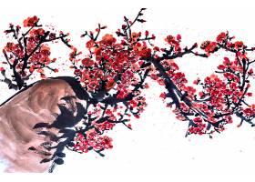 美丽的日本山水红美庆典_120591001