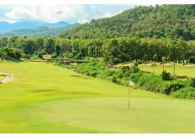 高尔夫球场景观_118513201