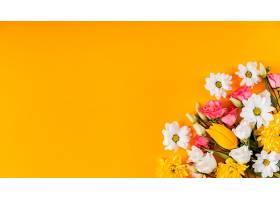 带有复制空间的美丽的春季插花_1206778401
