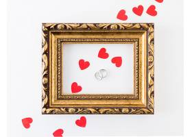 带装饰品的结婚戒指_409110801
