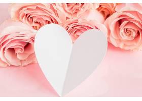 用玫瑰花特写看情人节的概念_1110632101