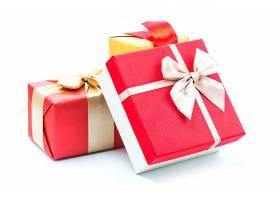白色背景礼品盒_145175901