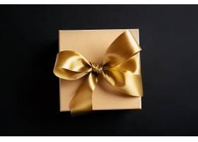 暗面金色缎带礼盒_624188701