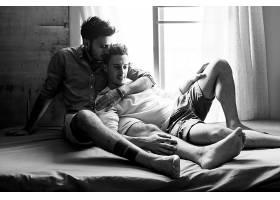 同性恋夫妇热爱家的概念_286115101