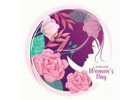 水彩画国际妇女节_122296350102