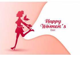 喜气洋洋的女士三八妇女节快乐海报_69726800101