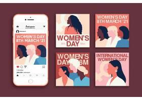 国际妇女节Instagram帖子集_125526460101