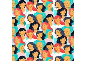 女性面孔插图_64854930101