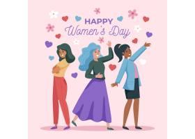 平面设计国际妇女节插图_122416890101
