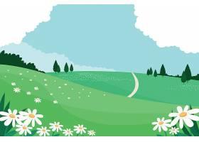 花卉春季景观概念_74436730101