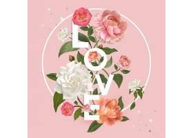 花卉爱情徽章_38419470101