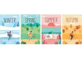 丰富多彩的手绘季节性海报收藏_53072540101