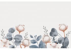 复制空间春天背景和花朵_122019850101
