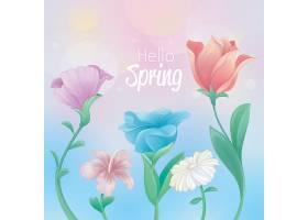 你好春天的设计花开得很漂亮_71667780102