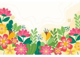 平坦的彩色春天壁纸_120671430101