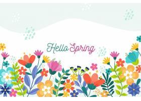带问候语的花卉春季壁纸_121019830101