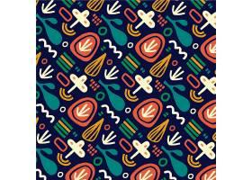 传统五颜六色的胡里节图案_125577190101