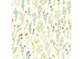 带有植物元素的图案_63905830101