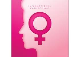 现实的国际妇女节图纸样式的插图_126880510101