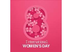 现实的国际妇女节图纸样式的插图_126894710102